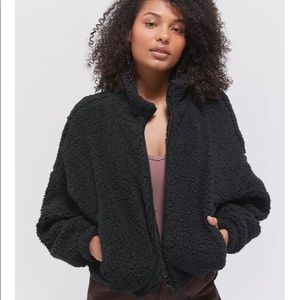 URBAN OUTFITTERS TEDDY BEAR COAT